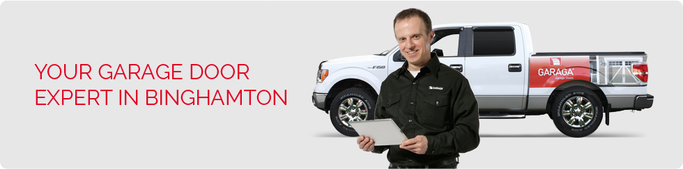 Your garage door expert in Binghamton