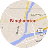 Map Binghamton